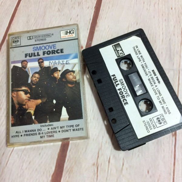product details: CASSETTE TAPE - FULL FORCE – SMOOVE photo