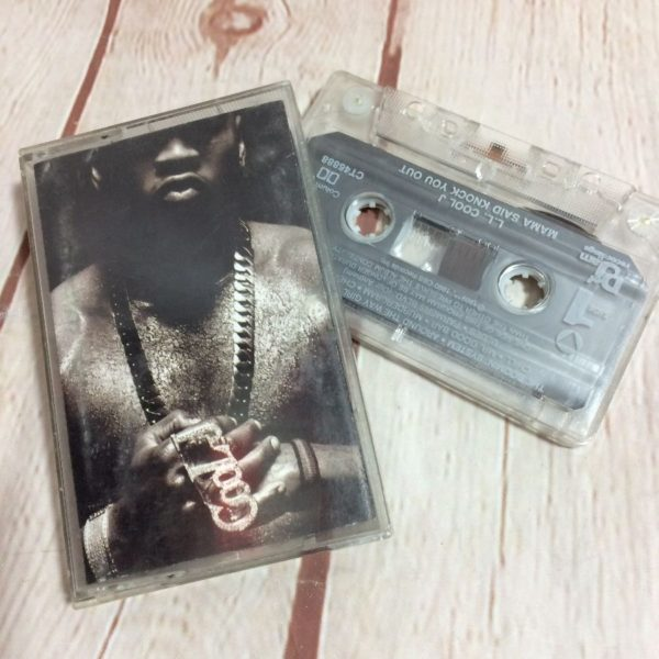 product details: CASSETTE TAPE - LL COOL J - MAMA SAID KNOCK YOU OUT photo