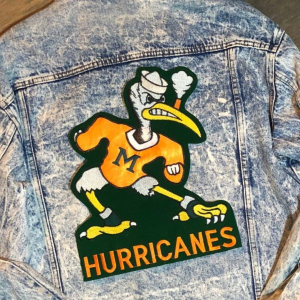 product details: LG MIAMI HURRICANES PATCH *DEADSTOCK* photo