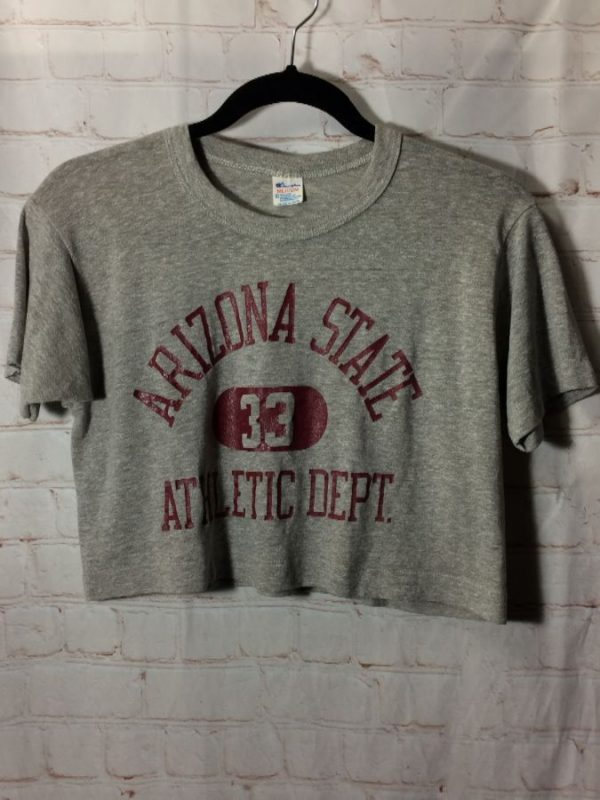T-SHIRT CROPPED-TOP ARIZONA STATE #33 ATHLETIC DEPT