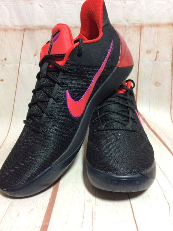 product details: NIKE AIR KOBE AD BLACK RED PINK SWOOSH BASKETBALL SHOES NIKE KOBE AD *FLIP THE SWITCH* *DEADSTOCK photo
