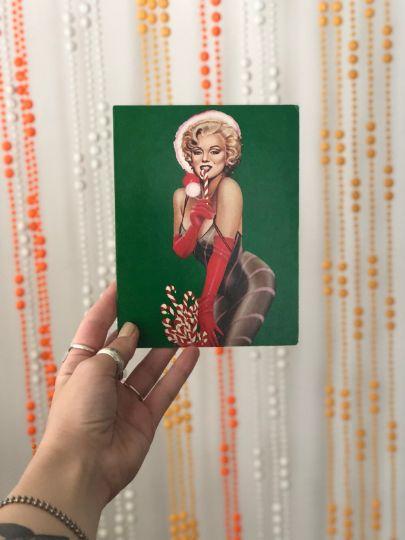 Marilyn Monroe 1979 Christmas Card