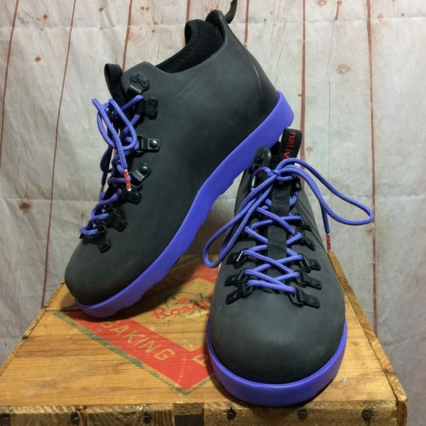 NATIVE RUBBERIZED LACE-UP HIKING BOOT