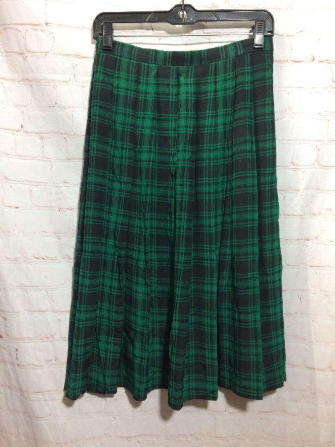 A Silk Tartan Dress Is The Grown Up Version Of Clic Skirt