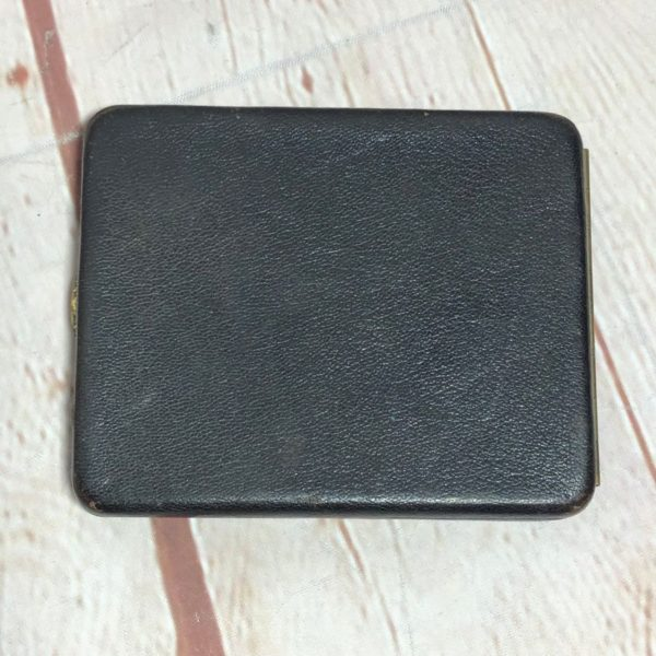 product details: STRUCTURED LEATHER CIGARETTE CASE/CARDHOLDER/WALLET W/ STRAP HOLDERS photo