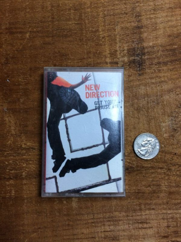 NEW DIRECTION/GET YOUR PRAISE – CASSETTE TAPE W/ LINER NOTES & CASE
