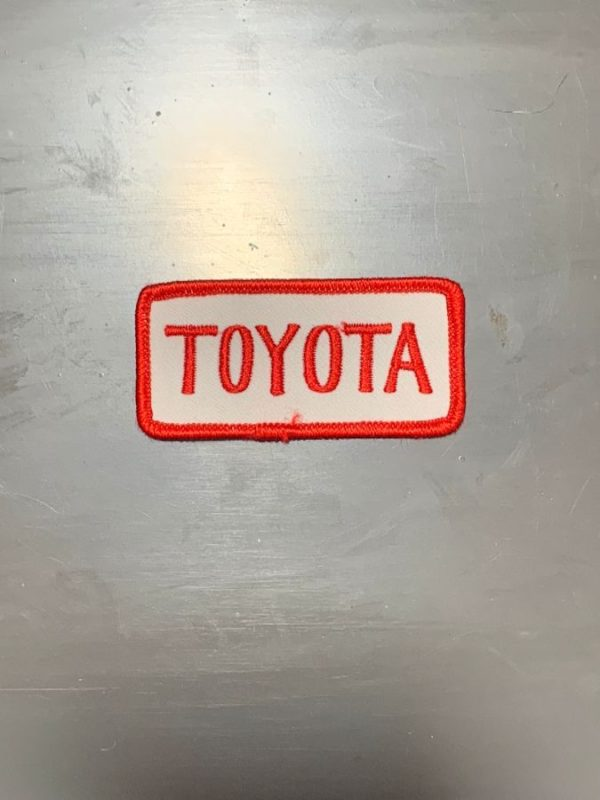 product details: VINTAGE 1970S-80S TOYOTA PATCH photo