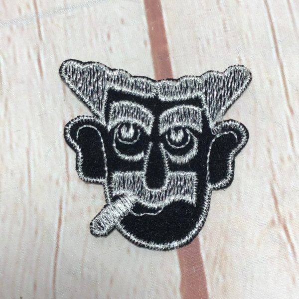 GROUCHO MARX WITH CIGAR VINTAGE PATCH RARE