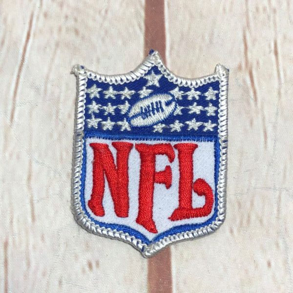 OFFICIAL NFL SHIELD LOGO EMBROIDERED PATCH