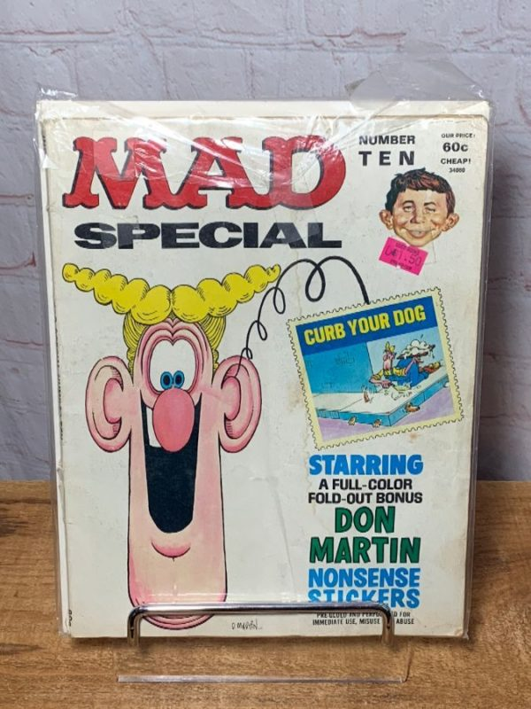 MAD MAGAZINE SPECIAL ISSUE #10 W/ NONSENSE STICKERS