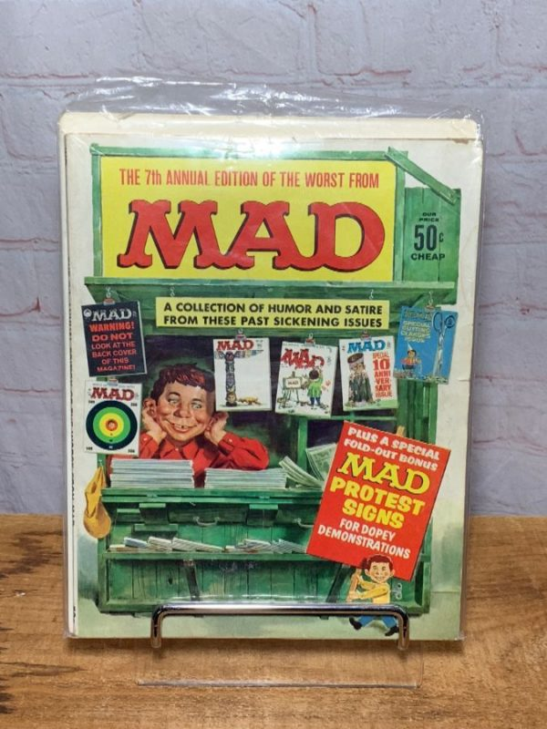 product details: MAD MAGAZINE 7TH ANNUAL EDITION OF THE WORST FROM MAD 1964 photo