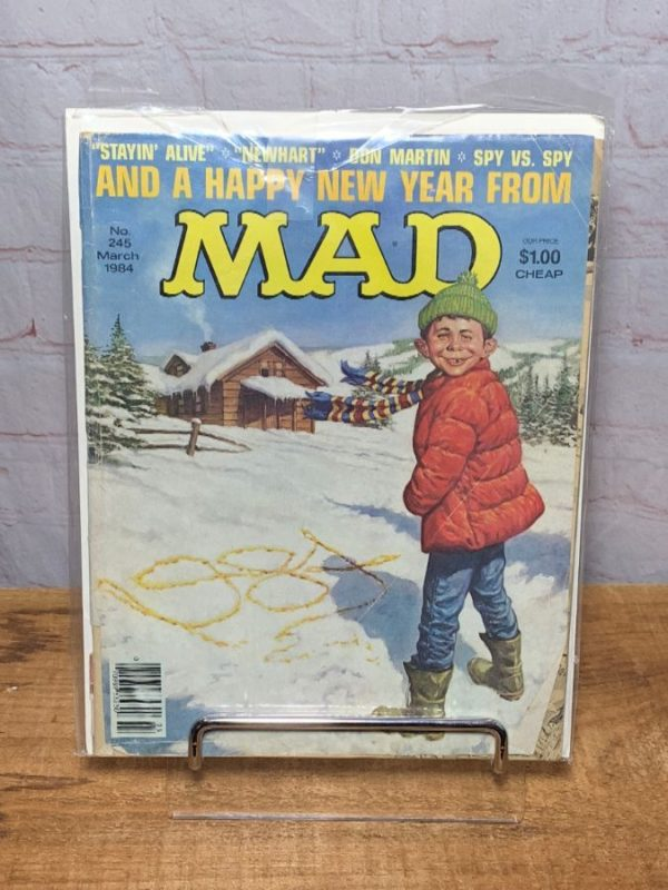 MAD MAGAZINE MARCH 1984 A HAPPY NEW YEAR FROM MAD – ISSUE #245