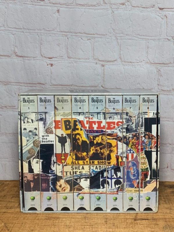 CAPITAL RECORDS – THE BEATLES ANTHOLOGY VHS VIDEO TAPES SET