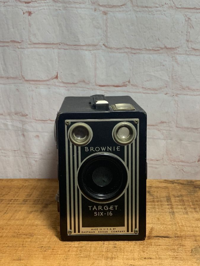 Vintage Eastman Kodak Brownie Camera Target Six 16 Boardwalk Vintage