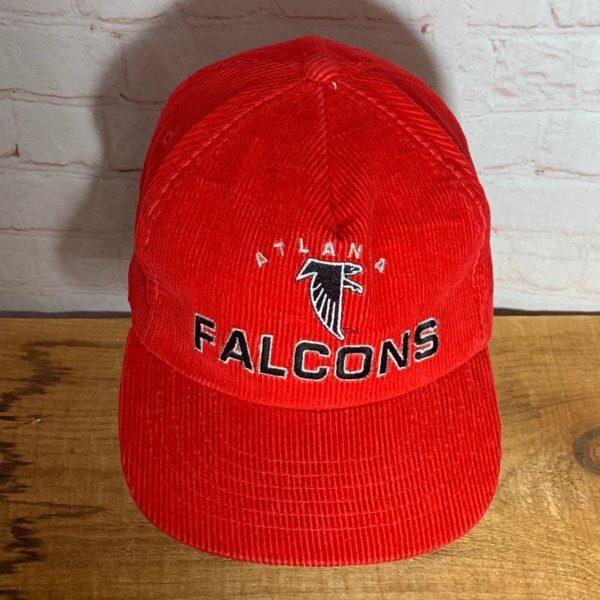 NFL ATLANTA FALCONS CORDUROY BASEBALL STYLE HAT