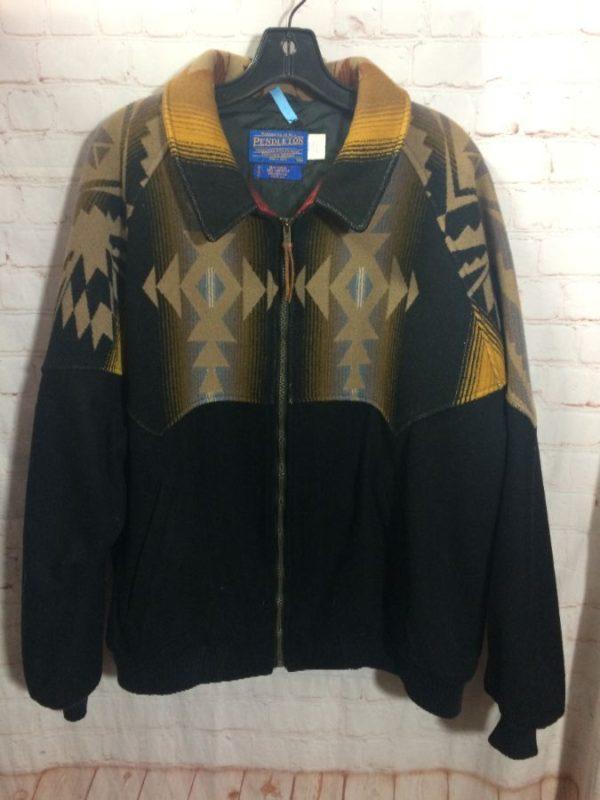 Pendleton Wool Navajo Bomber jacket as-is
