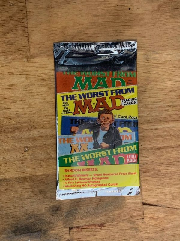 RETRO MAD MAGAZINE TRADING CARDS