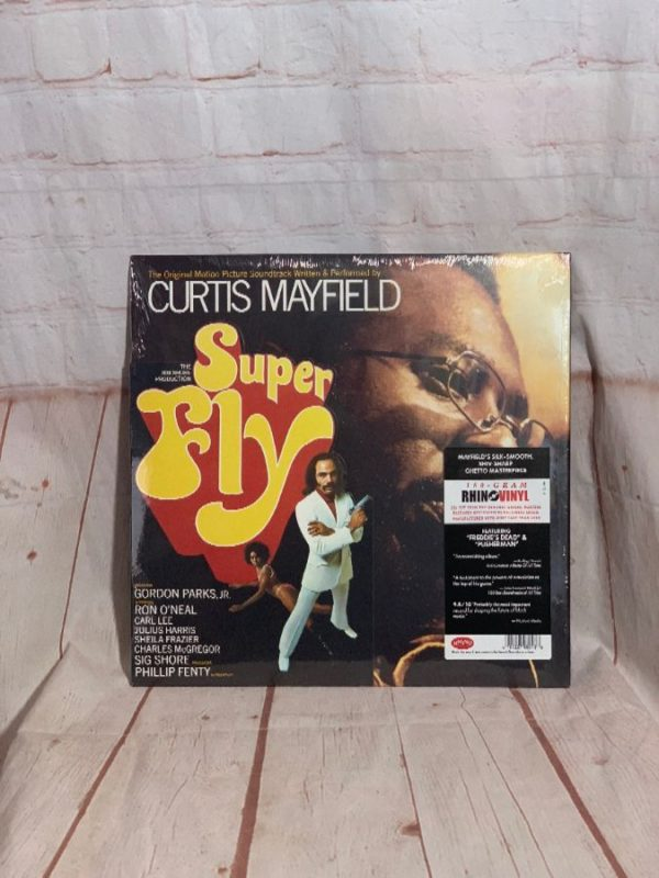 product details: VINYL RECORD - CURTIS MAYFIELD - SUPERFLY photo