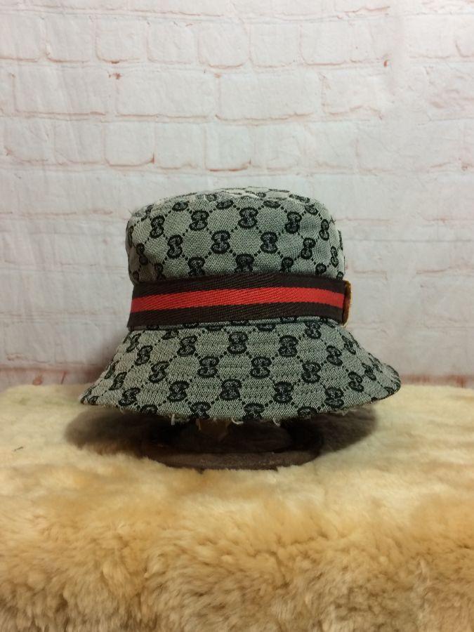 c1f03678604 BOOTLEG GUCCI MONOGRAM ALL OVER PRINT BUCKET HAT » Boardwalk Vintage