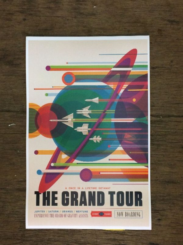 product details: THE GRAND TOUR SPACE ADVENTURE POSTER photo