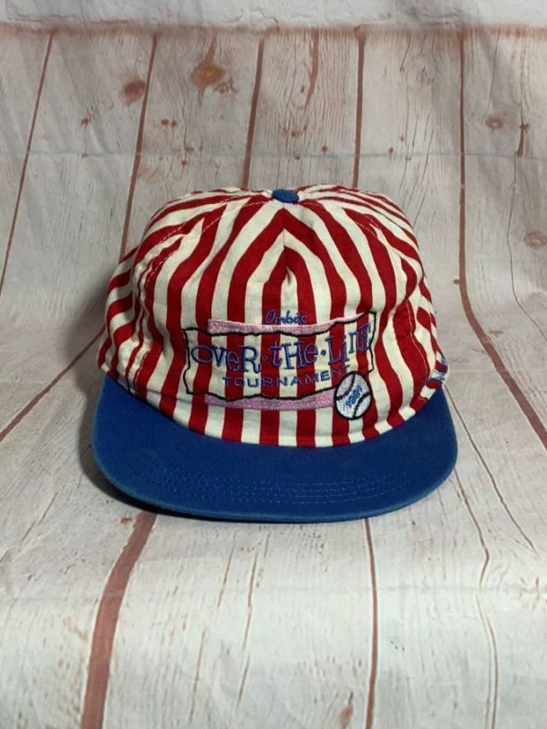 1991 OVER THE LINE TOURNAMENT STRIPED HAT