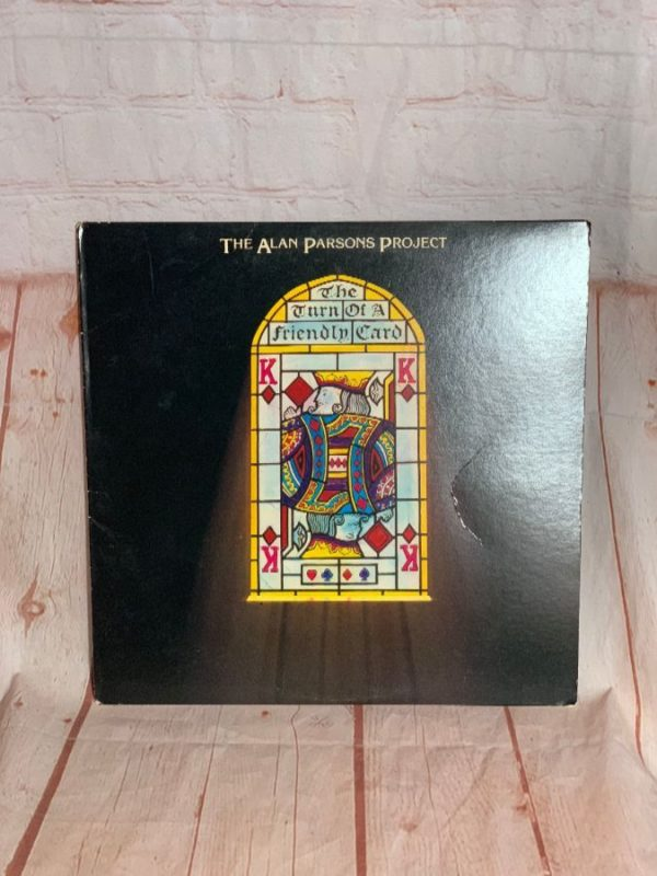 VINYL RECORD – THE ALAN PARSONS PROJECT – THE TURN OF A FRIENDLY CARD