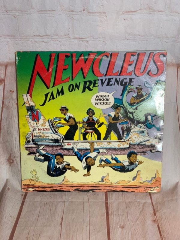 VINYL RECORD – NEWCLEUS – JAM ON REVENGE