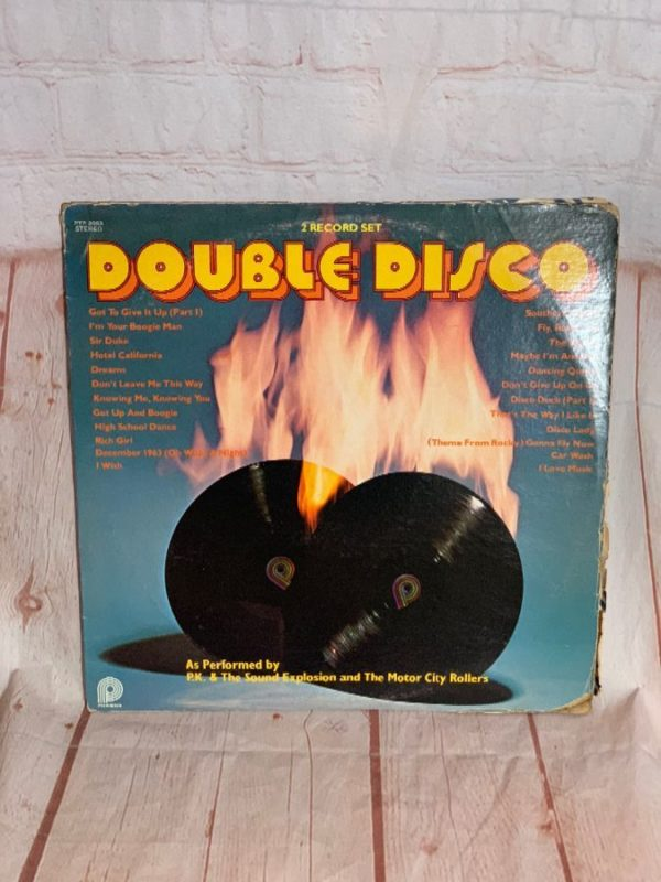 VINYL RECORD – COMP. ALBUM W/ PK & EXPLOSION & MOTOR CITY ROLLERS – DOUBLE DISCO