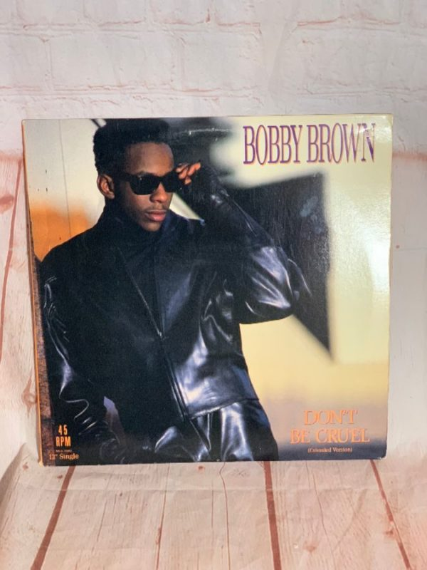 VINYL RECORD – BOBBY BROWN – DON'T BE CRUEL