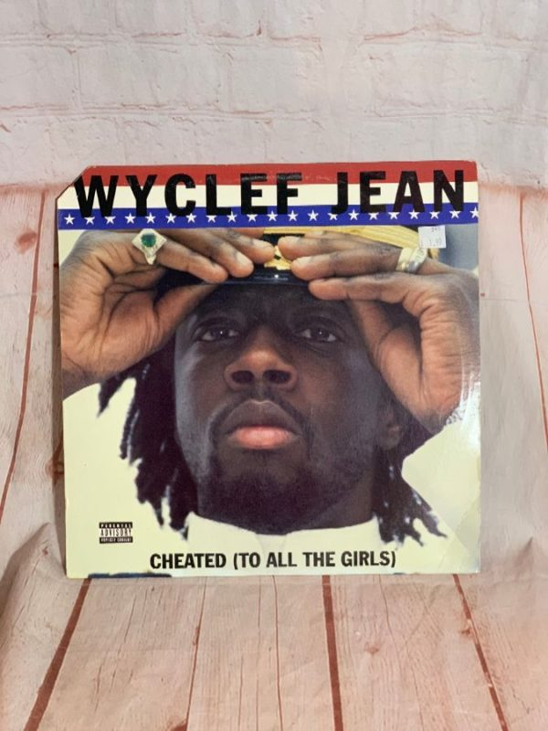 VINYL RECORD – WYCLEF JEAN – CHEATED (TO ALL THE GIRLS)