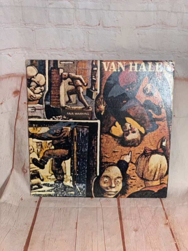 product details: VINYL RECORD - VAN HALEN – FAIR WARNING photo