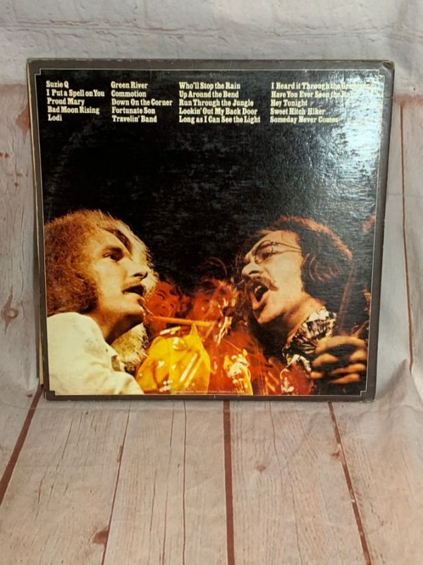 VINYL RECORD – CREEDENCE CLEARWATER REVIVAL – THE 20 GREATEST HITS