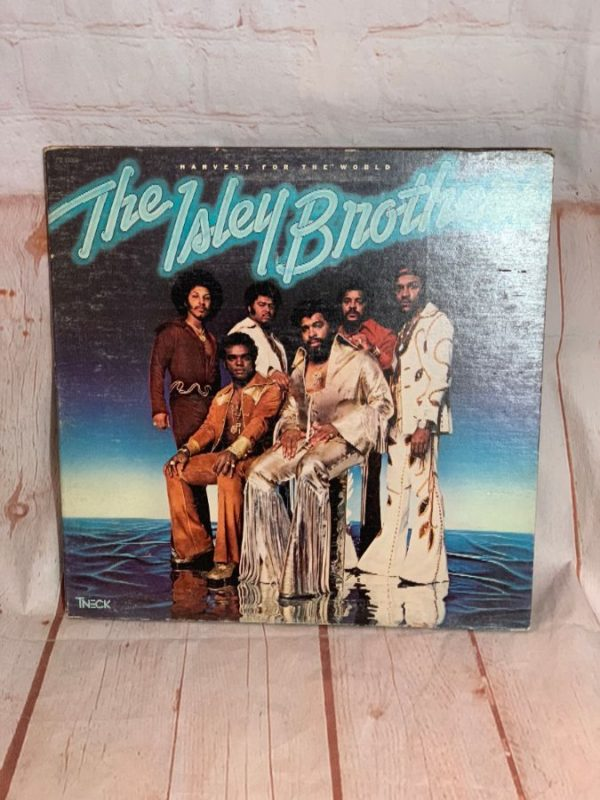 VINYL RECORD – THE ISLEY BROTHER – HARVEST FOR THE WORLD
