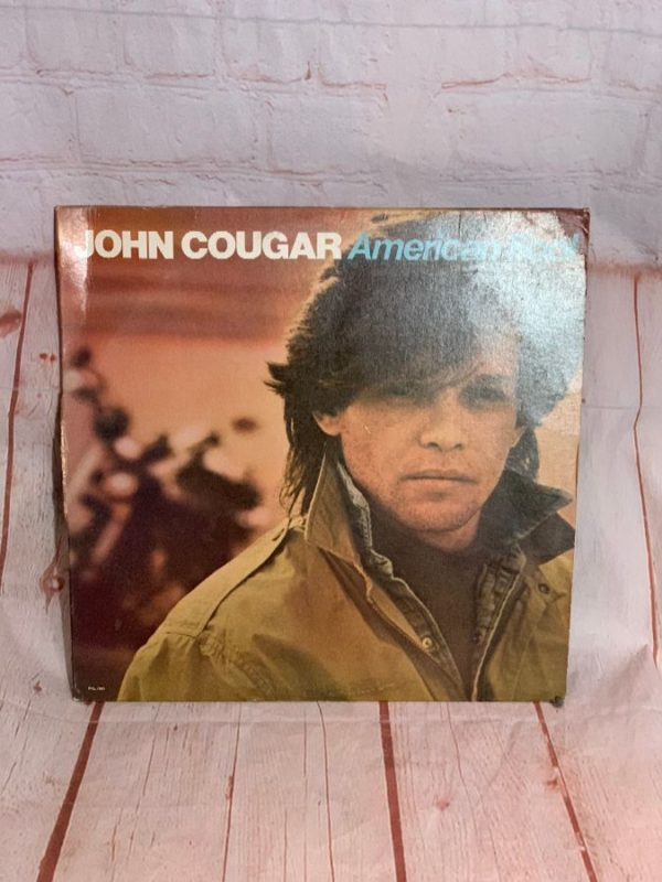 VINYL RECORD – JOHN COUGAR MELLENCAMP – AMERICAN FOOL