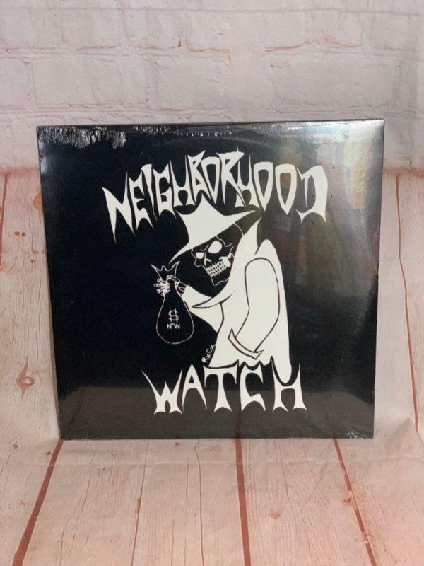 RARE VINYL RECORD – NEIGHBORHOOD WATCH – RE-RELEASE 0F 1983 ALBUM