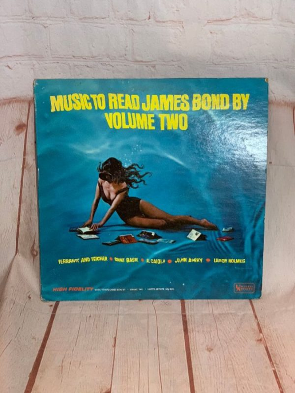 VINYL RECORD – VARIOUS ARTISTS – MUSIC TO READ JAMES BOND BY – VOLUME 2