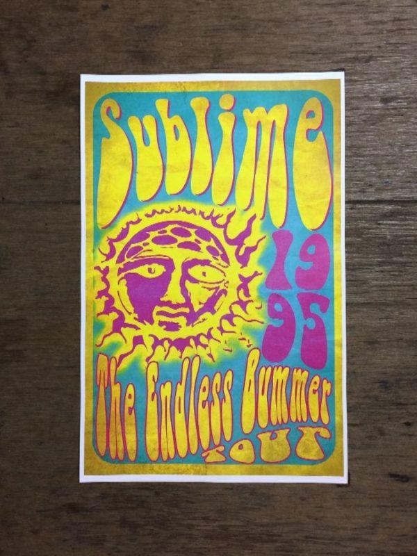 product details: SUBLIME ENDLESS BUMMER TOUR 1995 CONCERT POSTER photo