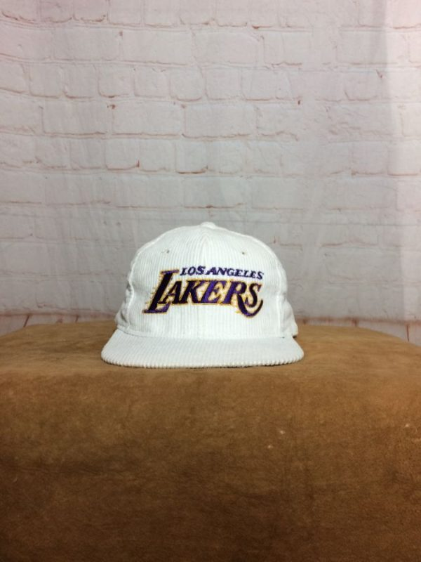 product details: VINTAGE LOS ANGELES LAKERS ADJUSTABLE CAP AS IS photo