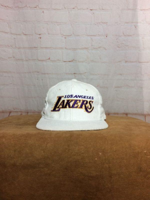 VINTAGE LOS ANGELES LAKERS ADJUSTABLE CAP AS IS