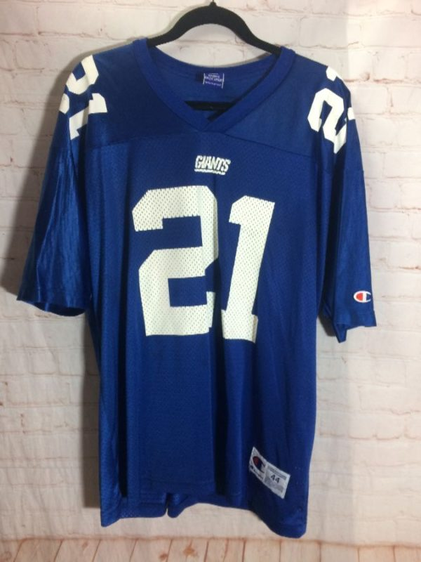 NFL NEW YORK GIANTS #21 BARBER FOOTBALL JERSEY