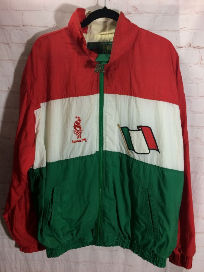 cheap prices new collection cheapest price 1996 ATLANTA OLYMPICS ITALY STARTER WINDBREAKER JACKET