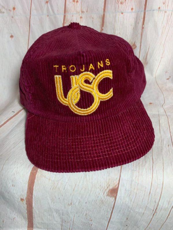 VINTAGE CORDUROY HAT USC TROJANS