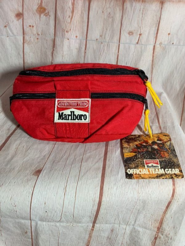 MARLBORO ADVENTURE TEAM NYLON FANNY PACK W/ CANTEEN