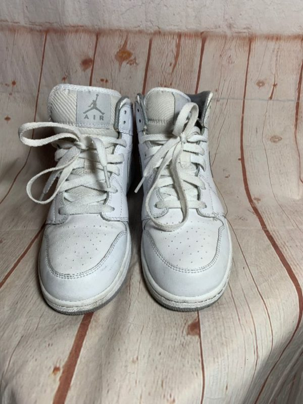 NIKE AIR JORDAN 1'S W/ LACE-UP & MID HEIGHT