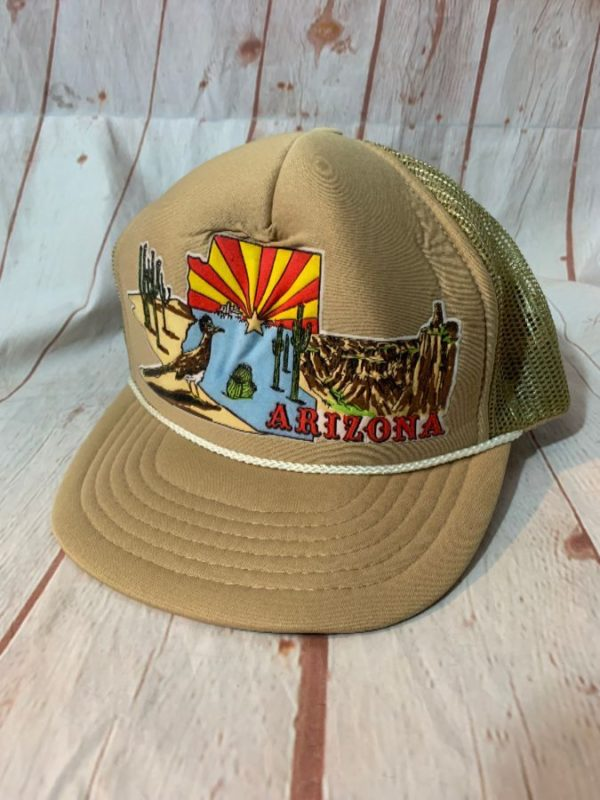 ARIZONA LANDSCAPE HEAT TRANSFER FRONT DESIGN W/ SNAP-BACK TRUCKER HAT