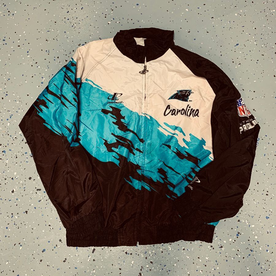 Nice NFL AUTHENTIC PROLINE CAROLINA PANTHERS WINDBREAKER JACKET  for cheap