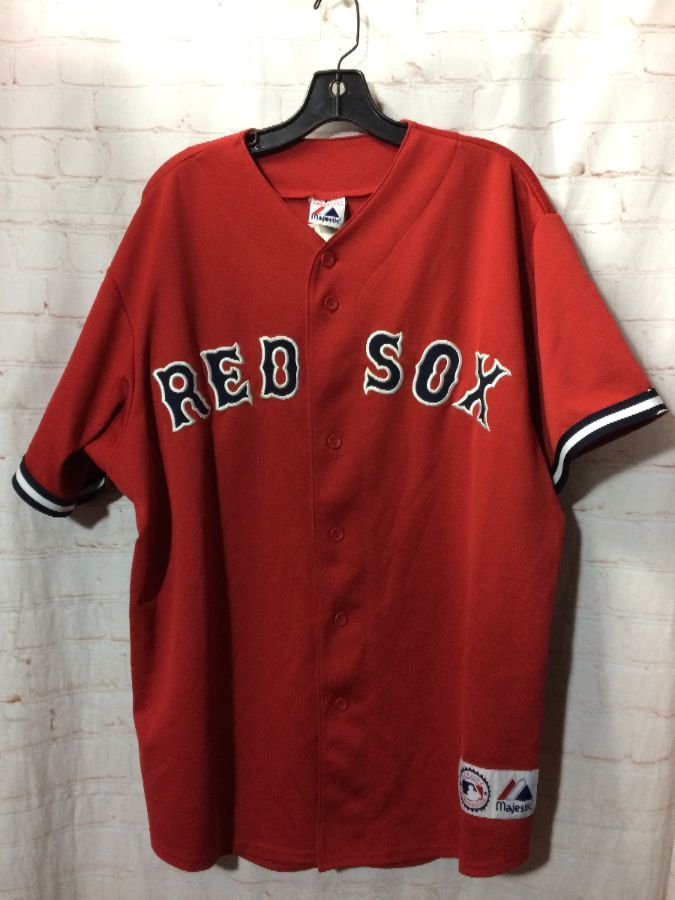 on sale 09914 6f575 BOSTON RED SOX BASEBALL JERSEY ORTIZ #34