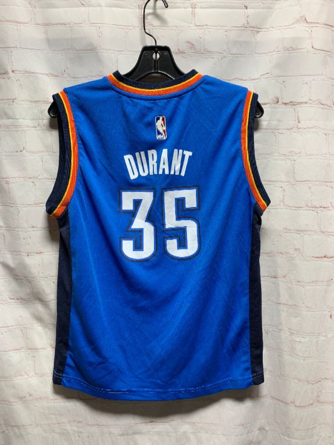 newest 6b75f 13a2c NBA BASKETBALL JERSEY OKLAHOMA CITY #35 DURANT