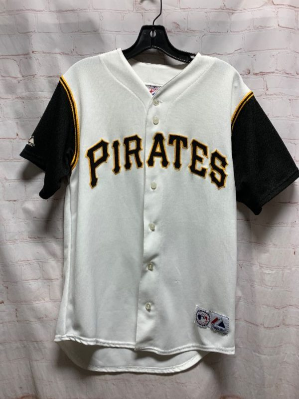 MLB PITTSBURGH PIRATES BASEBALL JERSEY W/ CONTRASTING SLEEVES