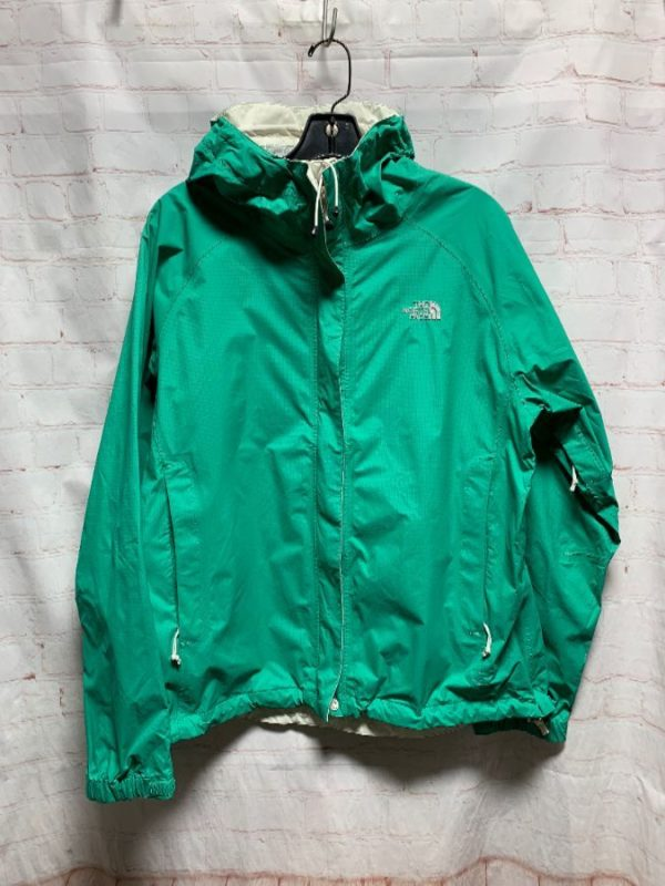 THE NORTH FACE WINDBREAKER RAIN JACKET ZIP-UP